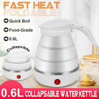 Portable Travel Collapsible Electric Water Kettle Foldable Silicone Water Pot