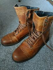 Men's Diesel tan Leather Boots size 46/UK 12. Brand new. RRP - £185