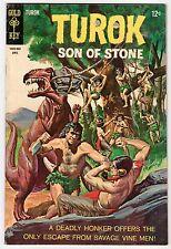 Gold Key TUROK SON OF STONE #61 April 1968 Vintage Comic