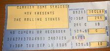 MTV Presents Sept 21,1989 Rolling Stones Carrier Dome Syracuse Concert