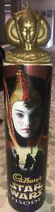 Cadburys Star Wars Episode 1 Collectors Box/Tube With Queen Amidala Head Bust.