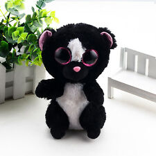SMALL TY Beanie Boos New Shadow Halloween CAT Different Eyes Plush Stuffed Toy