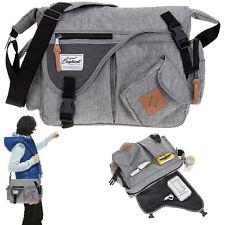 Schultertasche Elephant Jack Bag Tasche Freizeittasche Vintage Bag 12688 TT Grau