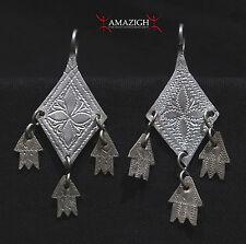 Old Berber Earrings - Khamsa - South Morocco