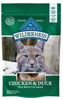 BLUE Wilderness Grain-Free Soft--Moist Chicken & Duck Recipe Cat Treats 2-oz
