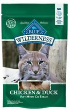 BLUE Wilderness Grain-Free Soft--Moist Chicken & Duck Recipe Cat Treats 2-oz