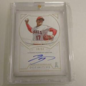 SHOHEI OHTANI Handwritten Autograph MLB 2019 Topps Limited edition of 12 Card