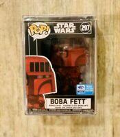 Funko Pop Boba Fett #297 Star Wars Wondercon  Target Exclusive Futura IN HAND