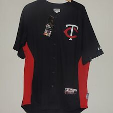 MLB Majestic Authentic Cool Base Minnesota Twins Baseball Jersey New Mens LARGE