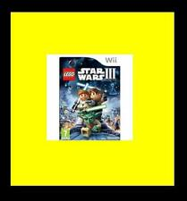 LEGO Star Wars III 3: The Clone Wars Nintendo Wii PAL Brand New