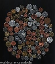 105 ALL DIFFERENT COUNTRIES UNC RARE WORLD COIN COLLECTION CURRENCY MONEY