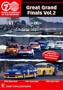 Magic Moments Of Motorsport - Great Grand Finals Volume 2 DVD   Touring Car NEW