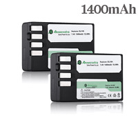 2 1400mAh D-LI109 DLI109 Battery For Pentax D-BC109 K-R K-30 K-50 K-500 K-S1 K-2