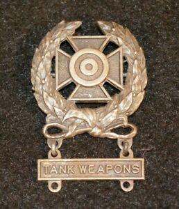 WW2 US Army Expert Marksmanship Badge 'Tank Weapons' Q Qualification Bar Scarce