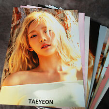K-POP SNSD TAEYEON TAE YEON 12cut Posters Collection 12PCS Bromide +A3  Sticker