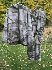 Cabelas Outfitter Camo, Dry Plus Rain Gear, XL Coat & Pants