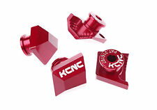 KCNC MTB Bike Chainring Convert Kit Bolts for Shimano XTR M980 to Double Red