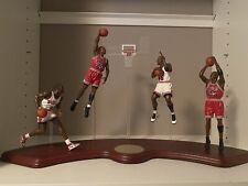 Danbury Mint 4 Figure Michael Jordan Lifetime Of Achievement Damaged Fingers