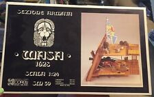 Historic 17th Century Wooden Ship Battle Station Cross Section Milano 1:24 SM39