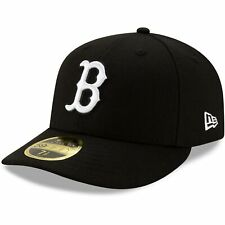 Boston Red Sox New Era Team Low Profile 59FIFTY Fitted Hat - Black