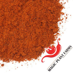 Ghost Pepper Powder 100% Pure Bhut Jolokia Powder (6 size variations)
