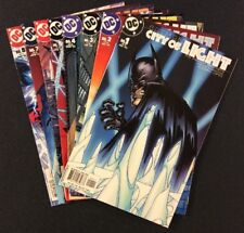 BATMAN CITY OF LIGHT #1 - 8 Comic Books FULL SERIES Pander Brothers DC 2003 F-VF