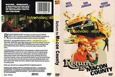 RETURN TO MACON COUNTY DVD digital remaster Hot rods custom street muscle
