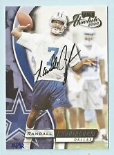 RANDALL CUNNINGHAM 2001 PLAYOFF HONOR ROLL 2000 ABSOLUTE AUTOGRAPH AUTO /92