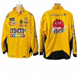 Kyle Busch M&M's 2019 Replica Uniform Pit Racing Jacket Adult Men's Size 3XL