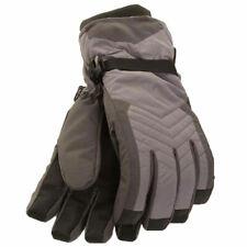 Mens Waterproof Ski Snow Thermal Lined Warm Winter Padded Gloves