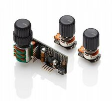 EMG BQS Bass/Midrange/Treble 3-Band EQ Controls w/3 Knobs for Bass Guitar NEW!
