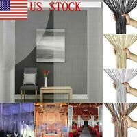 HOT Home Tassel Hanging String Door Curtain Partition Divider Windows Decoration