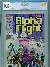 1986 MARVEL ALPHA FLIGHT #33 1ST APPEARANCE LADY DEATHSTRIKE CGC 9.8 WHITE