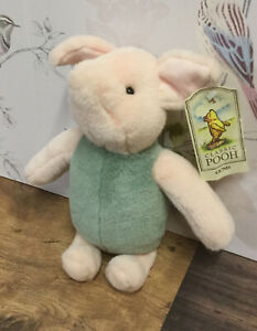 Gund Classic Piglet From Winnie The Pooh Soft Toy Plush 11ins Unused With Tag