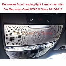 Burmester Front reading light Lamp Stainless cover trim For Benz C Class W205