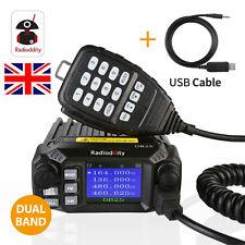 Radioddity DB25 Quad-standby V/UHF USB Mini Mobile Car Mobile Radio Transceiver