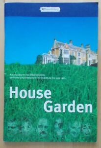 House and Garden programme National Theatre 2000 David Haig Jane Asher