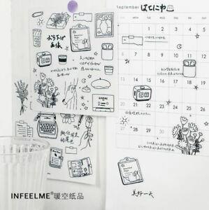 Embrace Life Journal, Calendar Craft Stickers Set