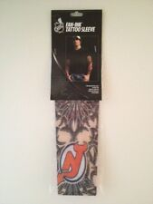 NEW JERSEY DEVILS NHL Fan-Ink Tattoo Sleeve Reusable, Stretchy, Looks Real NIB
