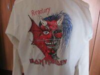 IRON MAIDEN  Purgatory  - Rare Vintage Camicia 1984  - 100% cotone , Taglia M