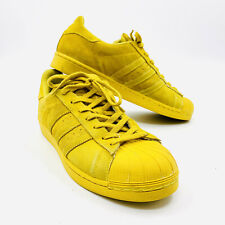 53a73ae42a371 Adidas Pro Model Size 10.5 Shell Toe Sneakers Yellow Mustard Supreme