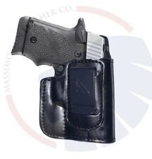 Sig Sauer P938 IWB Leather Holster Concealed Carry Right Hand