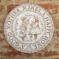 Collectors Plate Royal Crownford Sherman A Good Mother Makes A Happy Home 1973