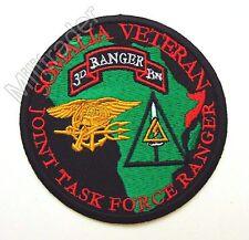 US Somalia Joint Task Force Ranger 3rd Battalion, Delta, SEALs Patch (GRN)