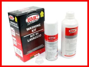 kit pulizia filtro aria sportivo BMC per auto moto olio e spray tuning kn K&N m