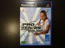 Jeu PS2 Pro Tennis WTA Tour complet PAL Vers. Fr.