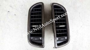 Porsche Cayenne 958 ( 2011 - 2016) Carbon Fiber Front Center Air Con Panels
