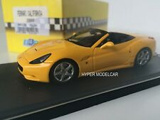 BBR Model 1/43 Ferrari California 2008 Yellow Art.BBR213B