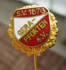 Ehrennadel vom SV 1876 Gera-Pforten aus Thüringen                     emailliert