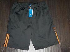 Adidas mens Baller shorts gray orange new basketball Large L